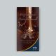 "Flyer ""Entdeckung der Schokoaldenwelt"", arko Kaffee & Confiserie, Titelseite"