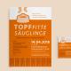 """Plakat und Flyer für die Workshops """"Topffitte Säuglinge"""""""